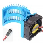 Алуминиев радиатор с 5V DC охлаждащ вентилатор