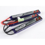 Turnigy nano-tech 2000mah 3S 15 - 25C Lipo Airsoft Pack - (3pcs)