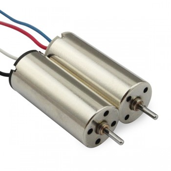 Мотор - Mini Quad Brushed Motors 8.5x20mm (CW/CCW)
