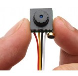 Mini Cmos FPV 90 Degree 600tvl Camera 3.6mm PAL