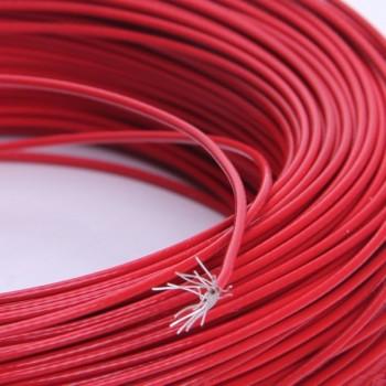 16AWG Turnigy Pure-Silicone Wire (1м.) - червен  (1,31мм2)