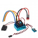 120A V3.0 Sensored Brushless Speed Controller ESC for 1/8 1/10 1/12 Car
