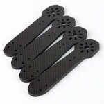 1pc - 4mm Thickness Carbon Fiber Arm Replacement For ZMR250